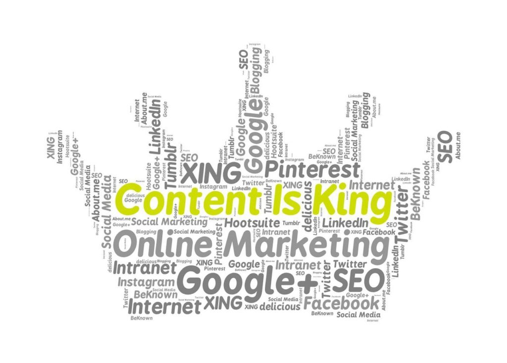 content marketing is not king