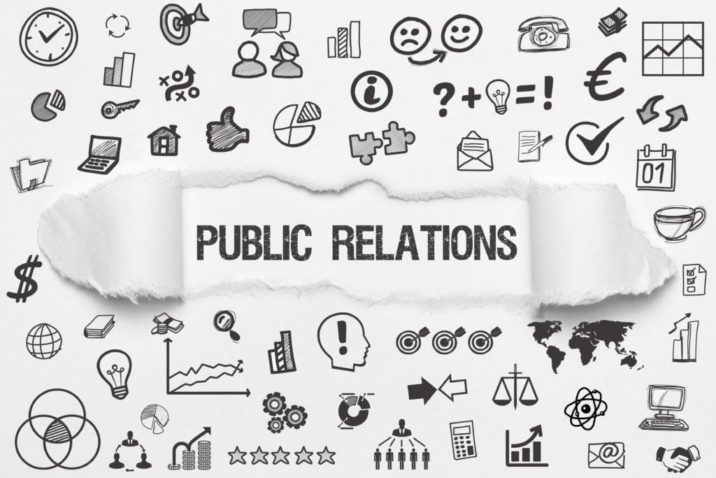 PR bureau varetager public relations