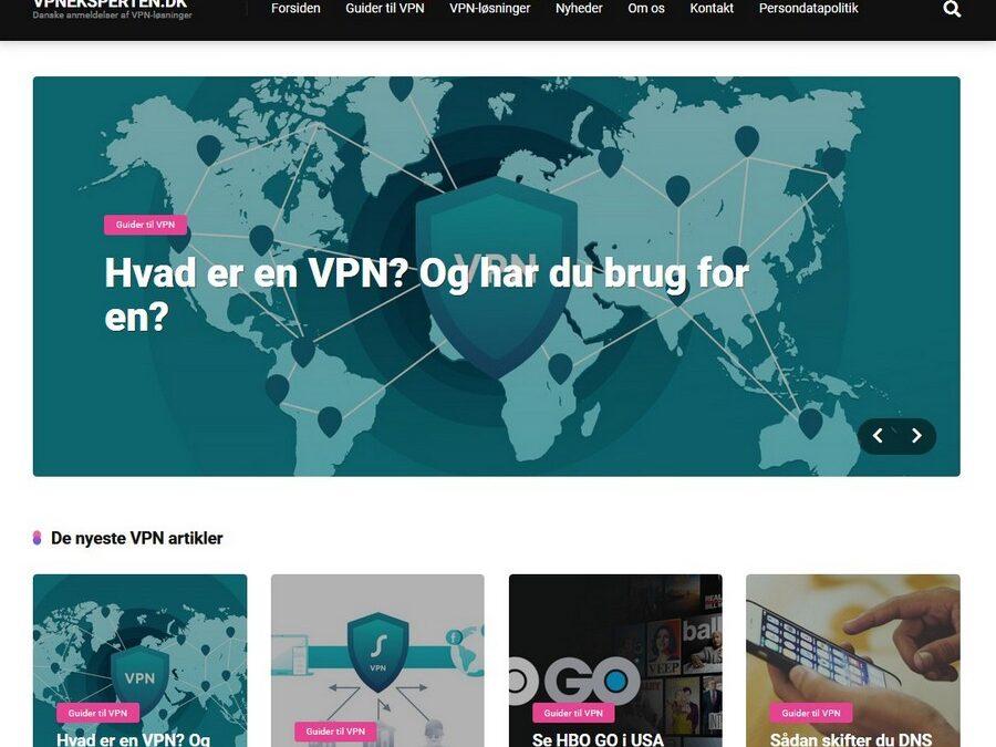 Danske anmeldelser af VPN-tjenester med VPNeksperten.dk